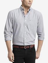 Izod Men's Big & Tall Mini Check Woven Shirt