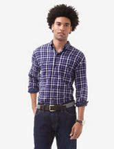 Nautica Purple Plaid Woven Shirt – Men's