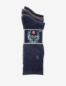 Chaps 3-pk. Casual Cushion Sole Socks