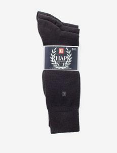 Chaps 3-pk. Flat Knit Socks
