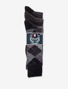 Chaps 3-pk. Microfiber Softouch Crew Socks