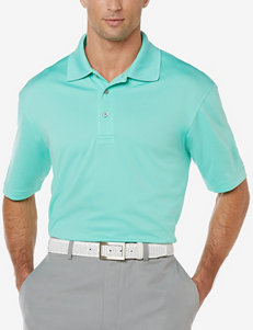 PGA Tour® Airflux Solid Color Knit Polo Shirt