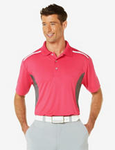 PGA TOUR® Red Color Block Performance Polo Shirt – Men's