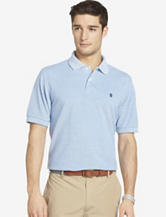 Izod Classic Blue Oxford Polo Shirt – Men's