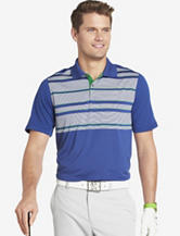 Izod Engineer Striped Golf Polo Shirt – Men's