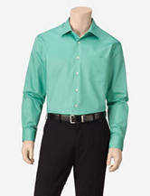 Van Heusen Lux Solid Color Fitted Dress Shirt
