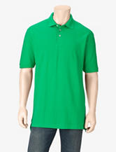 Sun River Solid Color Piqué Polo Shirt – Men's