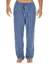 Izod Blue Striped Pajama Pants – Men's