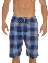 Izod Basic Plaid Pajama Shorts – Men's