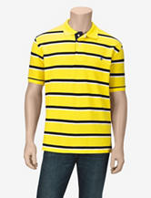 U.S. Polo Assn. Saratoga Yellow Bar Striped Polo Shirt – Men's