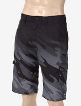 Ocean Current Faded Camo Board Shorts – Men's