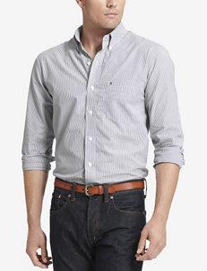 Izod Shadow Striped Woven Shirt