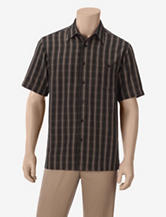 Haggar Work to Weekend Micro Plaid Woven Shirt – Men's