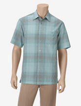 Haggar Work to Weekend Woven Mini Check Shirt – Men's