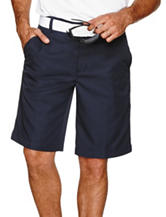 Izod Golf Solid Color Flat-Front Shorts