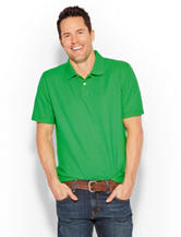 Sun River Solid Color Piqué Polo Shirt - Men's