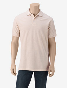 Sun River Solid Color Piqué Polo Shirt