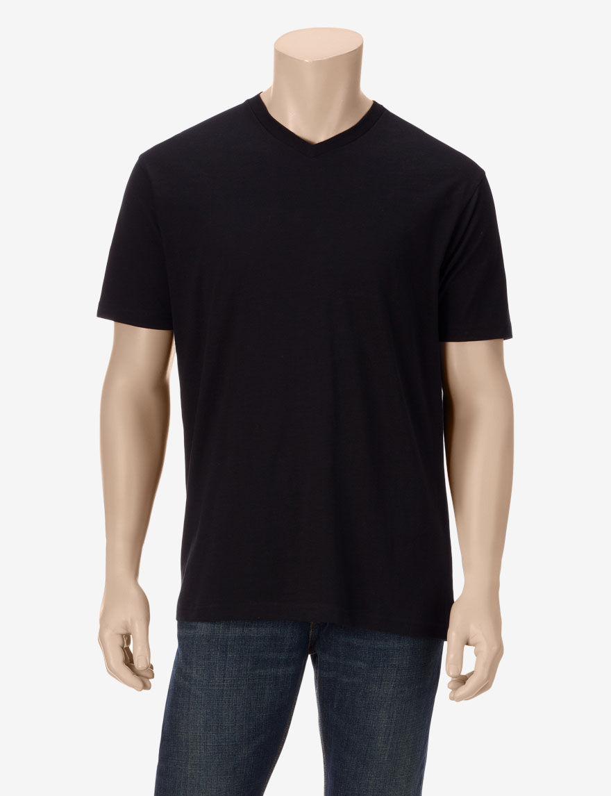 Rustic blue solid color slub v neck t shirt young men s for What is a slub shirt