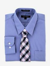 Ivy Crew 2-pc. Blue Dress Shirt & Tie Set