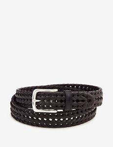 Dockers Braided Leather Brown Belt