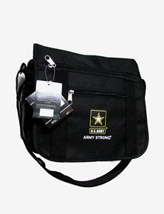 U.S. Army Black Mini Messenger Handbag