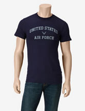 U.S. Air Force Navy Logo Screen T-shirt