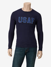 U.S. Air Force Basic Navy Long Sleeve T-shirt