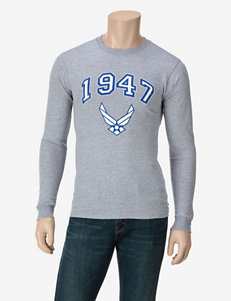 U.S. Air Force Heather Gray 1947 Logo T-shirt