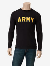 U.S. Army Basic Black Army Long Sleeve T-shirt