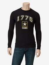 U.S. Army Black 1775 Logo T-shirt