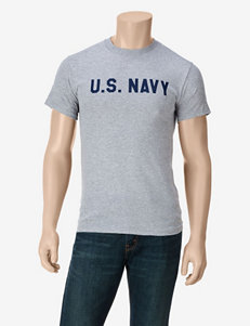 U.S. Navy Heather Gray T-shirt