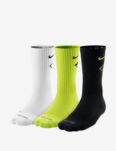Nike® 3-pk. Dri-FIT Fly Crew Cyber Socks