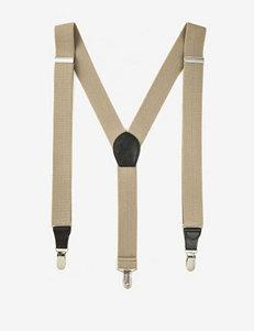 Ivy Crew Khaki Suspenders