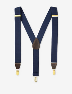 Ivy Crew Navy Suspenders