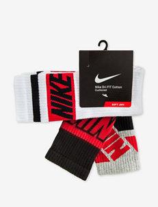 Nike® Dri-FIT Stripe 3-pk. Cushioned Cotton Socks