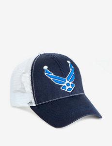 U.S. Air Force Wing Logo Navy Blue & White Trucker Cap
