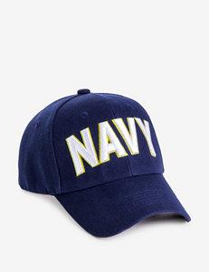U.S. Navy Raised Block Lettering Dark Blue Cap