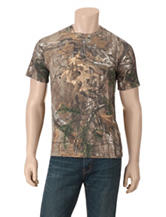 Realtree® Outfitters Camo Print  2-Tone Antler T-shirt
