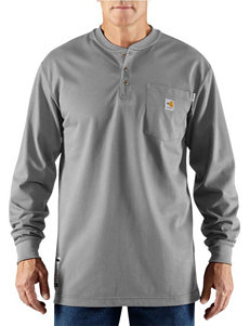 Carhartt Men's Big & Tall Force Flame Resistant Henley T-shirt