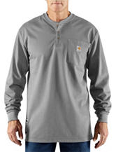 Carhartt® Men's Big & Tall Force Flame Resistant Henley T-shirt