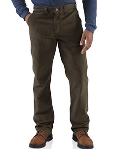 Carhartt Relaxed Fit Rugged Work Solid Color Pants