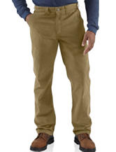 Carhartt® Men's Big & Tall Relaxed Fit Rugged Work Solid Color Pants