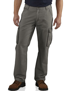 Carhartt® Men's Big & Tall Relaxed Fit Rugged Solid Color Cargo Pants