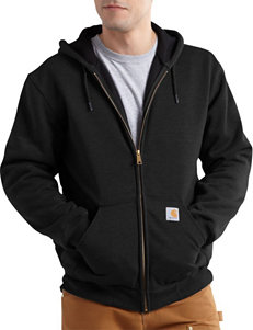 Carhartt® Men's Big & Tall Solid Color Rain Defender Rutland Thermal Hoodie