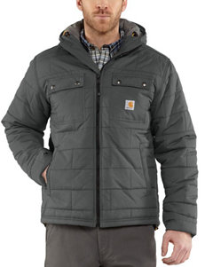 Carhartt Solid Color Brookville Quilted Nylon Jacket