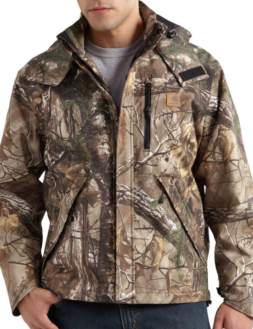 Carhartt Green Rain & Snow Jackets