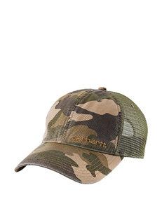 Carhartt® Brandt Camo Print Mesh Back Cap