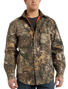 Carhartt Men's Big & Tall Wexford Realtree Xtra Camo Print Shirt Jacket