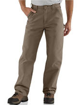 Carhartt® Men's Big & Tall Washed Duck Work Dungaree Utility Pants