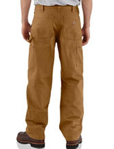 Carhartt® Men's Big & Tall Double Front Washed Duck Work Dungaree Pants
